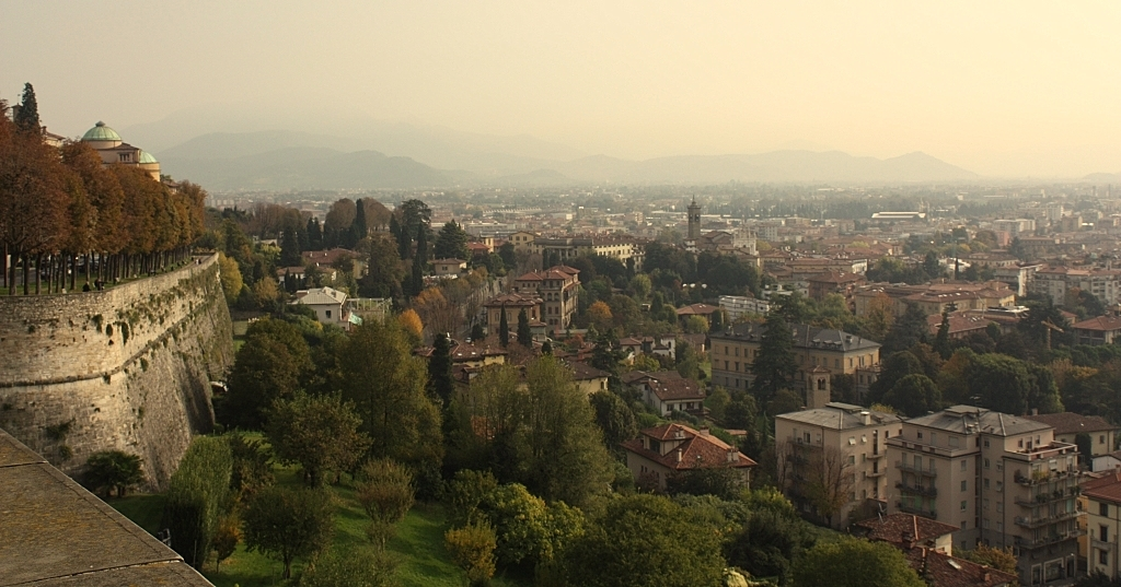 """Bergamo, czyli """"Miasto na wzgórzu"""""""