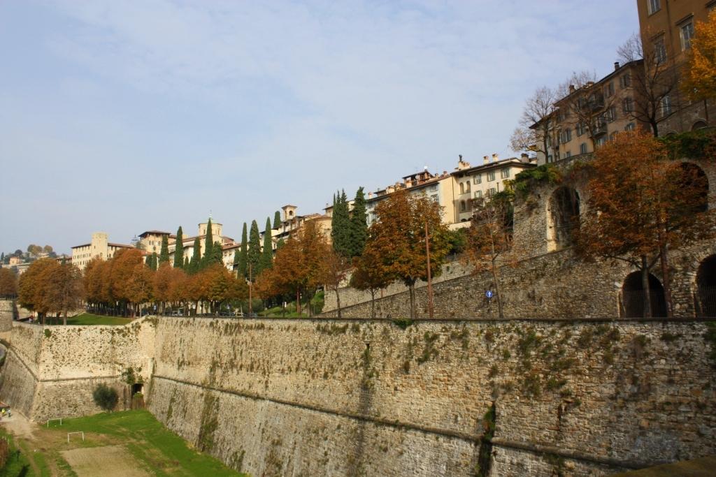 Bergamo - mury obronne
