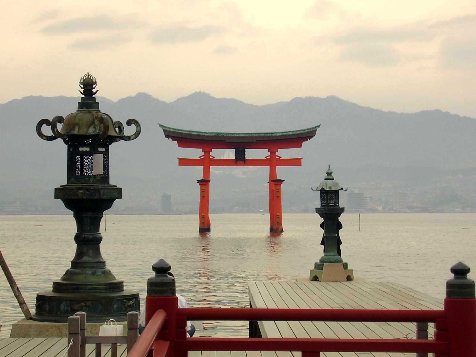 Trzy Pejzaże Japońskie – Miyajima