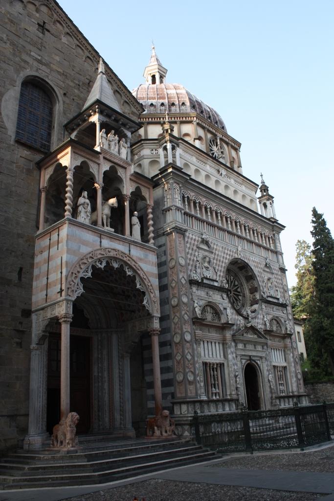 Bergamo, Piazza Duomo - Bazylika Santa Maria Maggiore