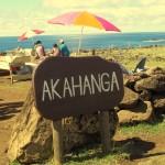 Wyspa Wielkanocna - Akahanga