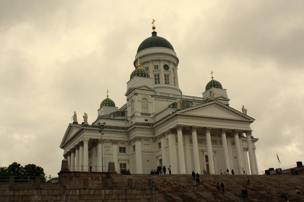 Helsinki - Budowla na Placu Senatu
