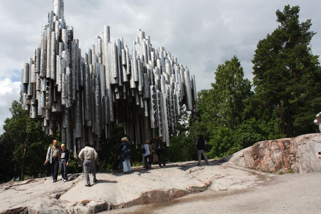 Helsinki, Park Sibeliusa, pomnik autorstwa Eili Hiltunen