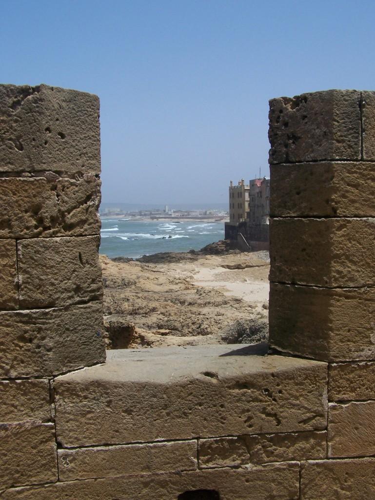 Essaouira. Fragment murów obronnych