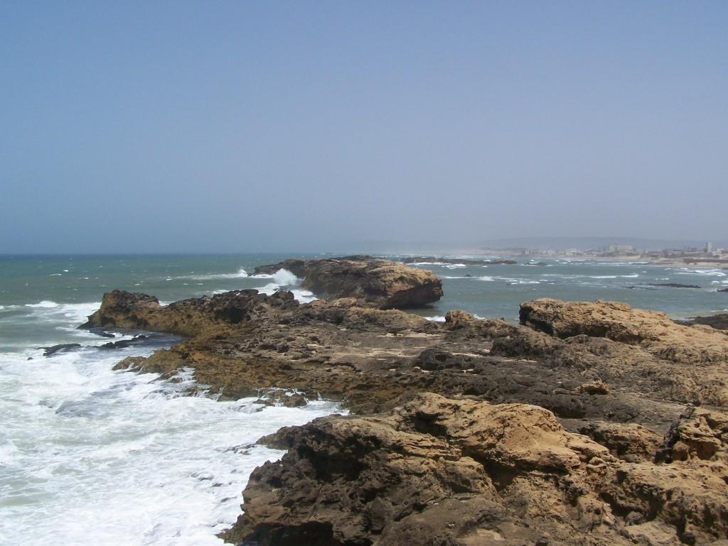 Essaouira. Wybrzeże Oceanu Atlantyckiego