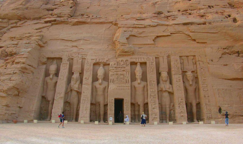 Wejście do Świątyni w Abu Simbel