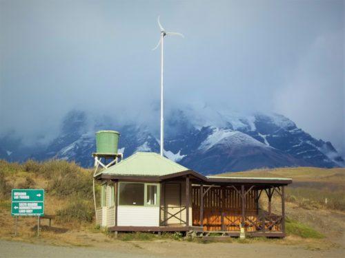 Droga z Puerto Natales do Parku Narodowego Torres del Paine