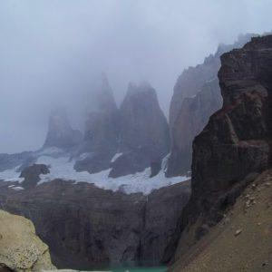 Trzy wieże masywu Torres del Paine