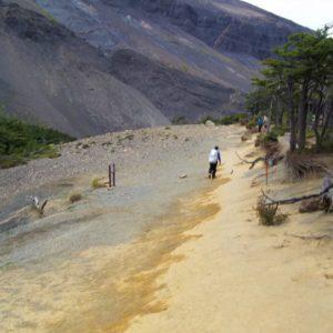 Jeden ze szlaków w Parku Torres del Paine