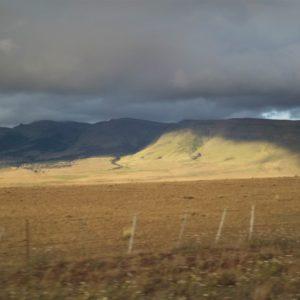 Gra świateł i cieni w andyjskich górach