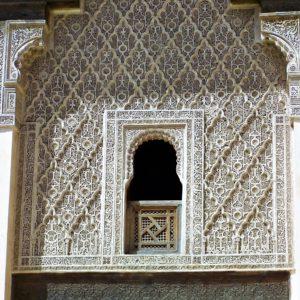 Ażurowe stiuki nawiązują do architektury mauretańskiej