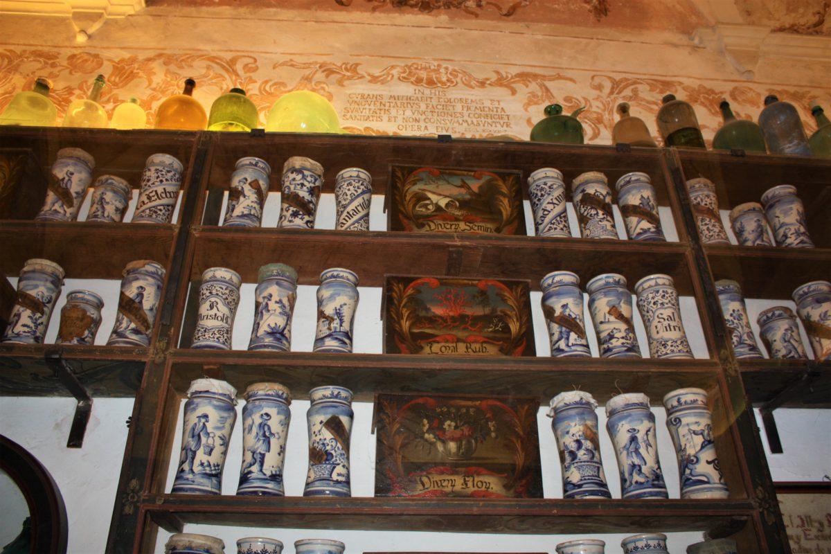Apteka w Klasztorze Kartuzów