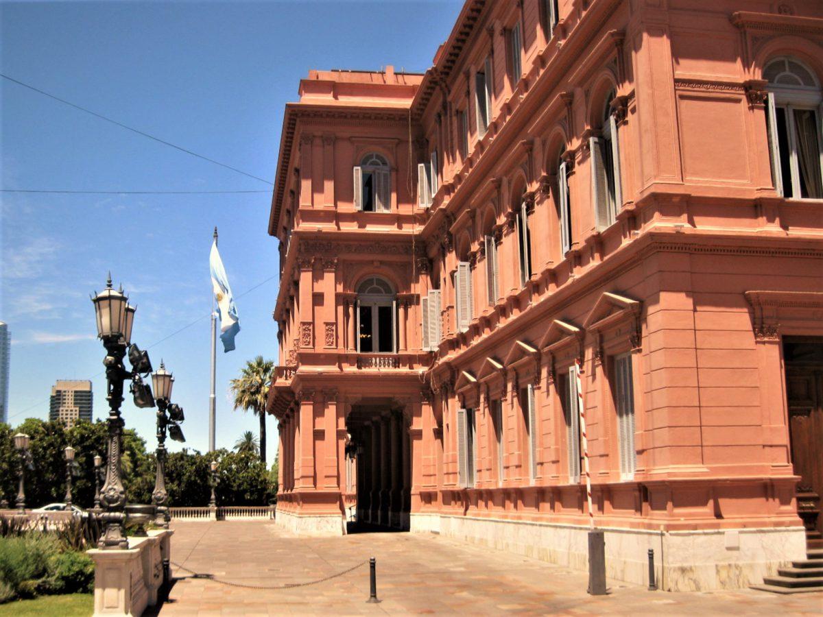 Casa Rosada to siedziba najwyższych władz, w tym także prezydenta Republiki Argentyny