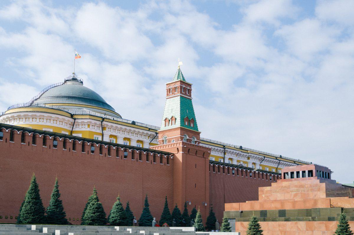 Do murów Kremla, w północno–wschodniej części Placu Czerwonego, przylega marmurowa bryła mauzoleum Lenina
