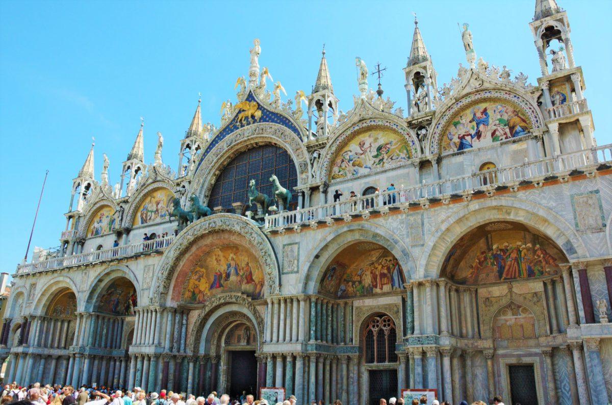 Fasada główna Bazyliki Świętego Marka w Wenecji