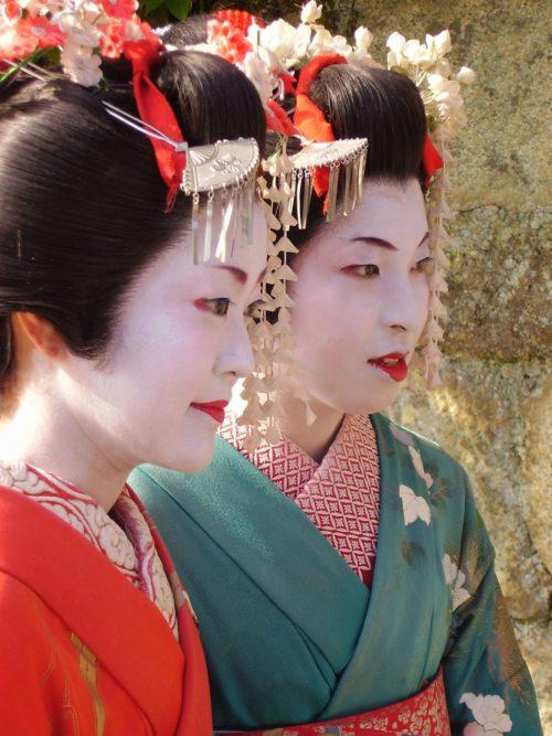"""W Gion gejsze określane są mianem """"geiko"""" – """"kobieta sztuki"""