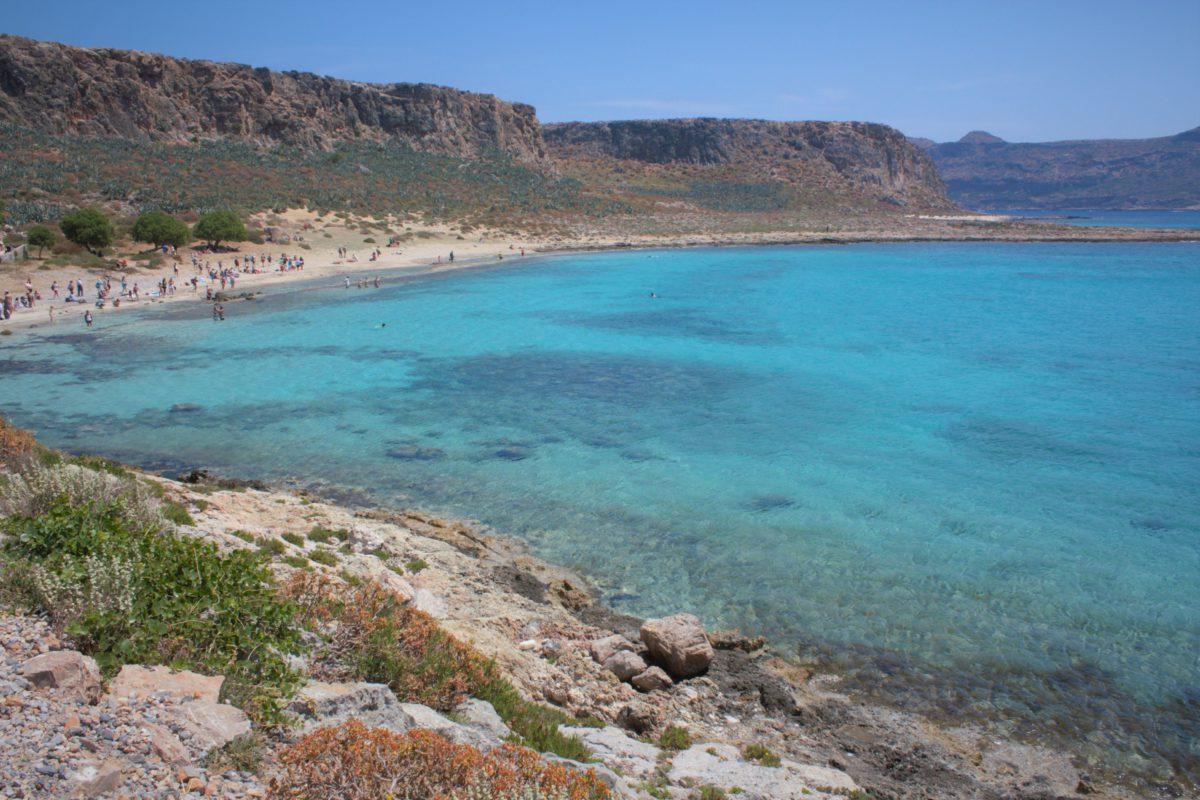 Laguna na wyspie Gramvousa to doskonałe miejsce do plażowania i odpoczynku