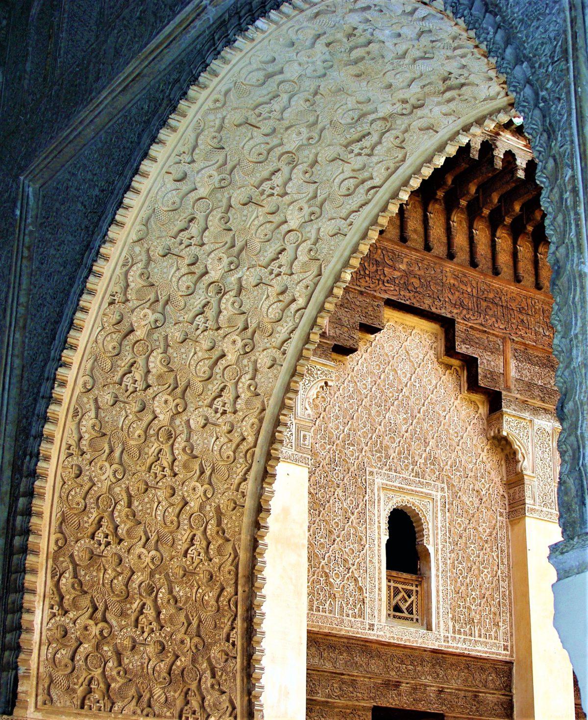 Maroko. Łukowe sklepienia
