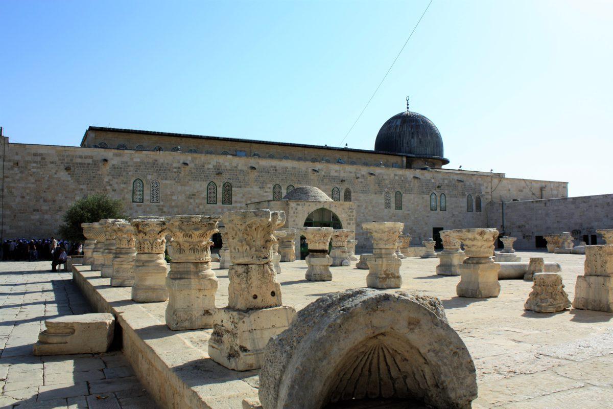 Meczet El-Aksa na Wzgórzu Świątynnym