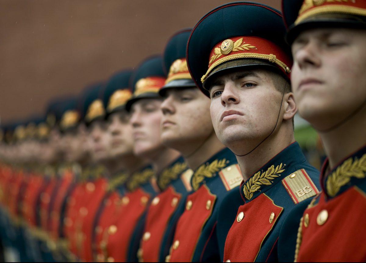 Na Placu Czerwonym odbywały się defilady, podczas ktorych przywódcy demonstrowali swą siłę i potęgę