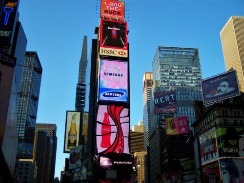Time Square – plac, który nigdy nie zasypia