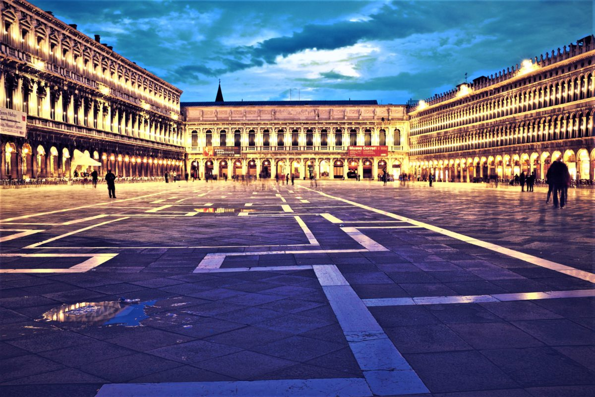 Plac Świętego Marka nazwany przez Napoleona najpiękniejszym salonem Europy
