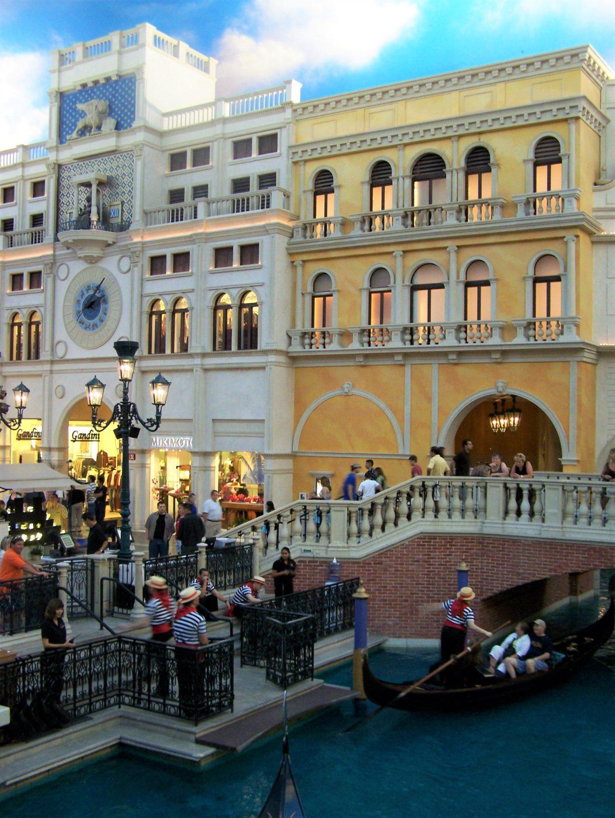 "Centrum handlowe ""The Venetian"""
