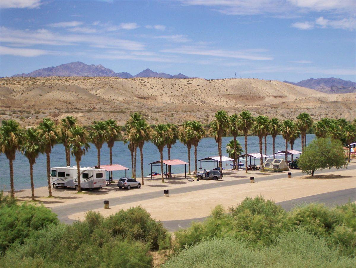 W drodze do Las Vegas. Pustynia Mojave