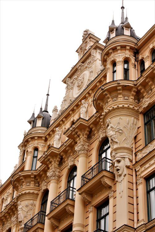 Ryga – wielkomiejski blask architektury epoki Art Nouveau