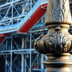 Centrum Pompidou powstało w zabytkowej części Paryża