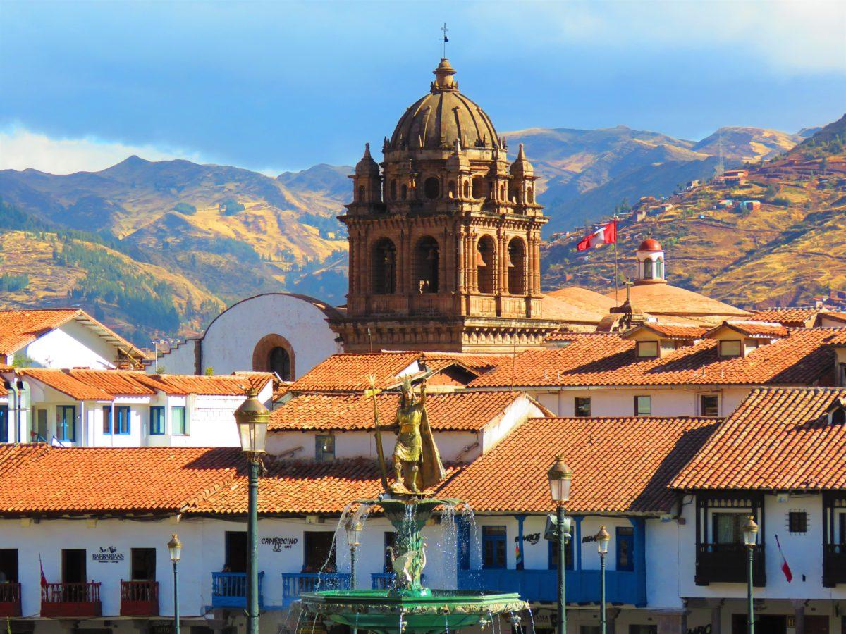 Cusco to dzisiaj stolica Peru oraz dawny ośrodek inkaskich władców