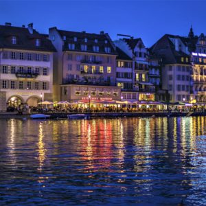 Wieczór w Lucernie