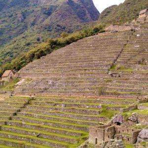 Kamienne tarasy w Machu Picchu