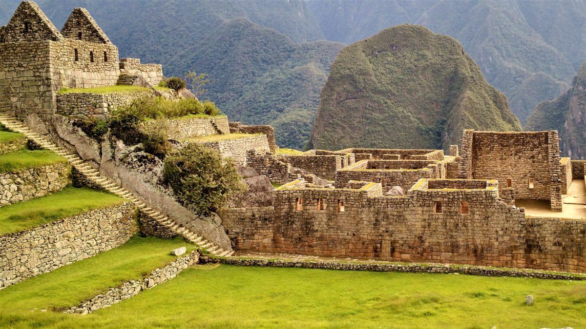 Machu Picchu podzielone jest a dwie główne strefy: rolniczą i miejską