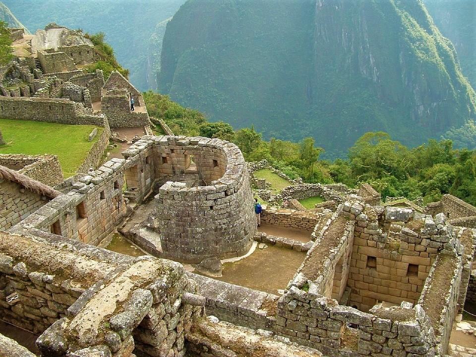 Świątynia słońca w Machu Picchu