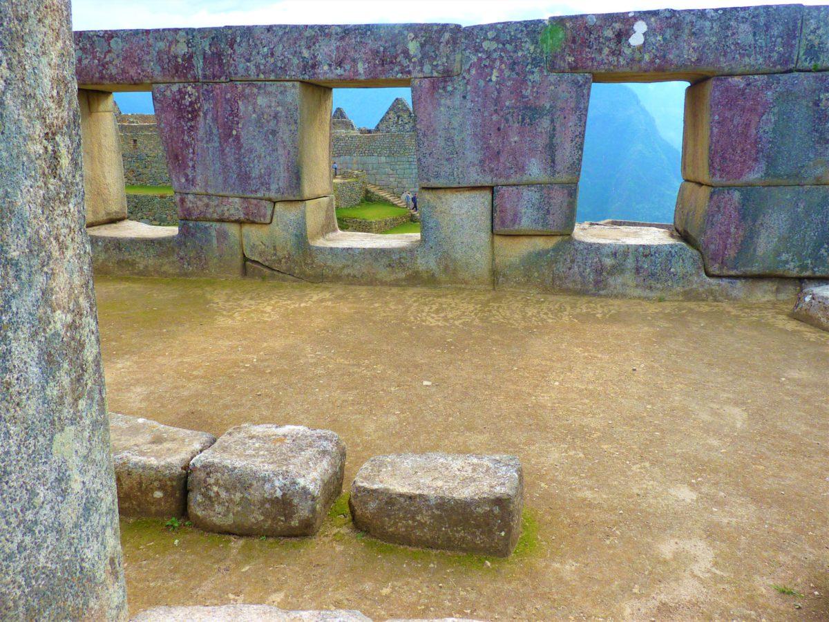 Świątynia Trzech Okien w Machu Picchu