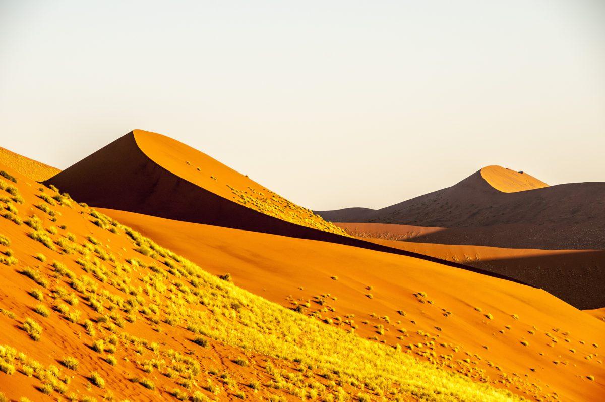 Pustynia Namib to bezkresne morze gorącego piasku