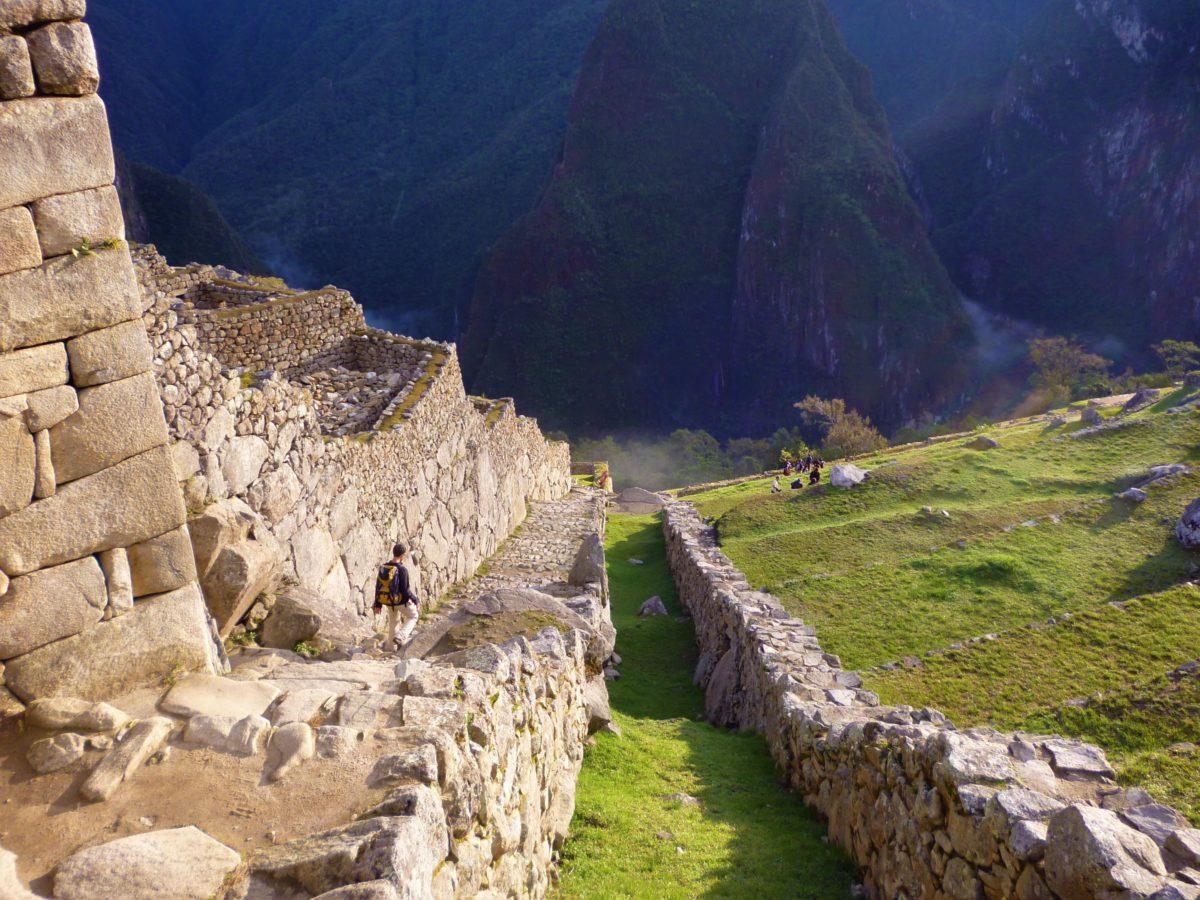 Sieć dróg pozwalała Inkom na sprawne administrowanie rozległym imperium