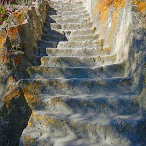 Kamienne schody na inkaskim szlaku